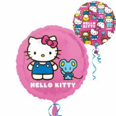 Hello Kitty 2 Side Design Foil Helium Balloon